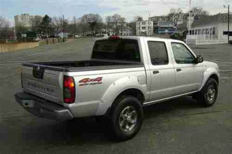 how does cars work 2004 nissan frontier transmission control purchase used 2004 nissan frontier xe crew cab pickup v6 auto 4x4 off road pkg no reserve in