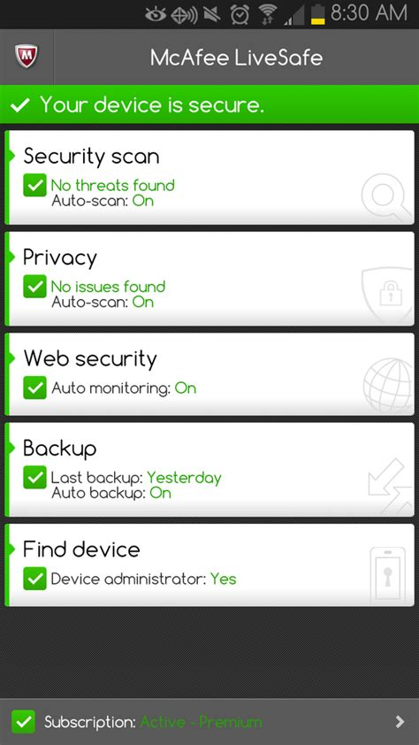mcafee livesafe android security to go three tips to keep your mobile data safe