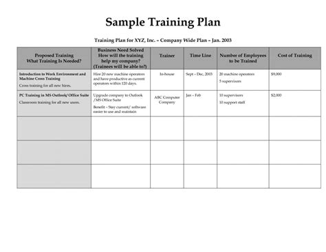 template for exercise program workout program template template business