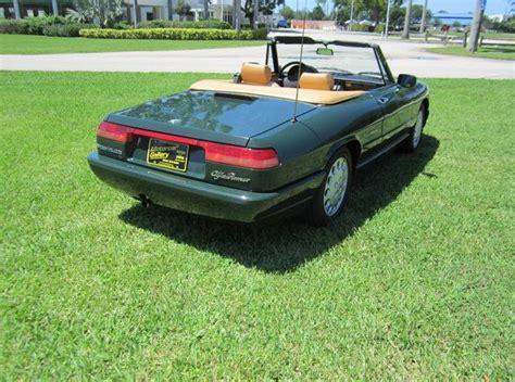 1994 Alfa Romeo Spider For Sale by 1994 Alfa Romeo Spider Commemorative Edition Classic
