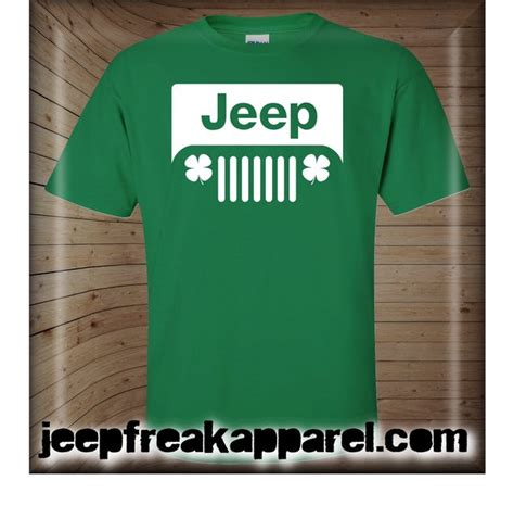 jeep beer shirt st patrick s day jeep shirt design 2 jeepfreakapparel com