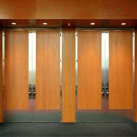 sound wood doors overly acoustical doors stc door