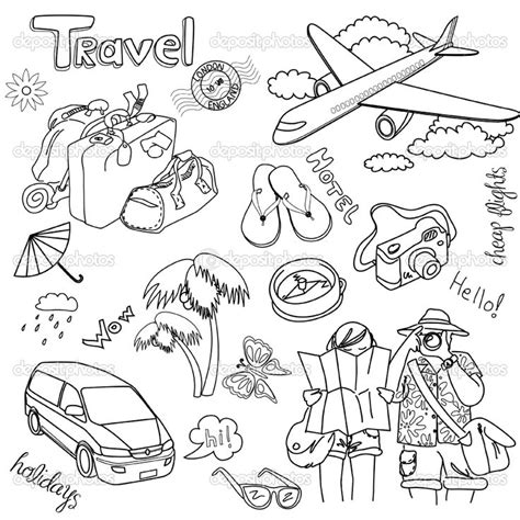 how to make doodle vector travel doodle doodles