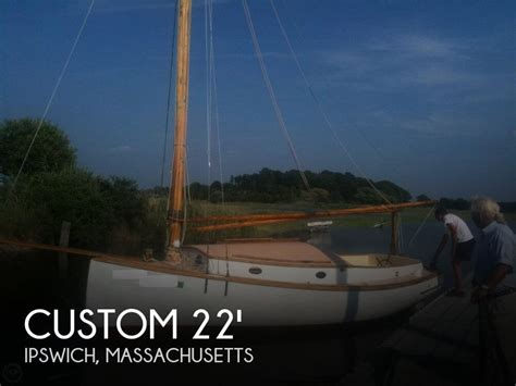 boats for sale ipswich ma sold custom 22 antique classic catboat boat in ipswich