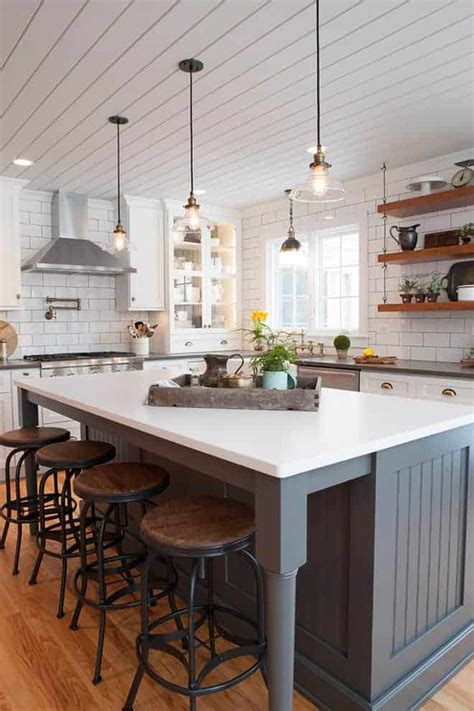 10 beautiful modern farmhouse kitchens is a wino