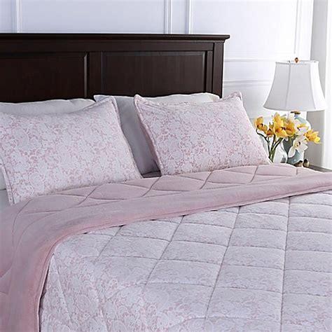 berkshire bedding comforter buy berkshire blanket 174 floral lace reversible full queen