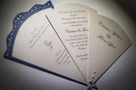 fan invitation template designs wedding and event stationery designed by