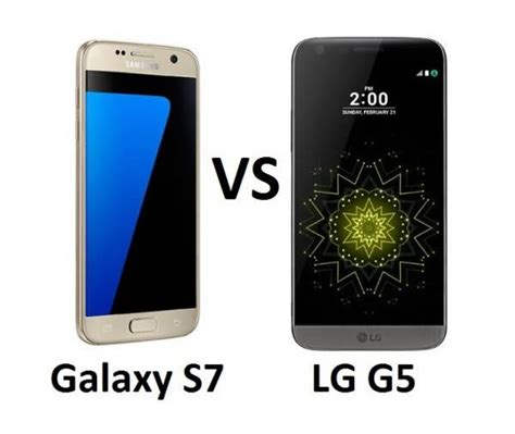 samsung galaxy s7 vs lg g5 which is the flagship king