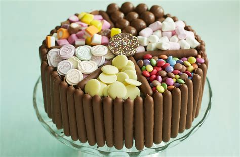 pick mix chocolate  sweet cake dessert recipes goodtoknow