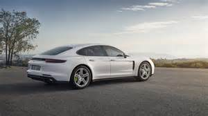 Porsche Panorama 4 2018 Porsche Panamera 4 E Hybrid Is Revealed A Month Ahead