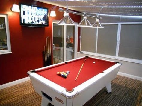 how much room for a pool table my pool table room