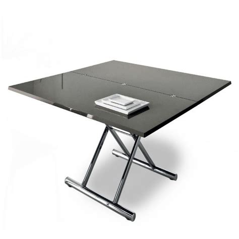 table basse convertible verre ezooq