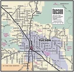 tuscon arizona map smt information