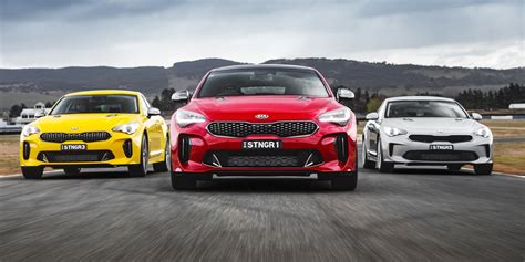 2018 kia stinger pricing and specs update photos 1 of 36