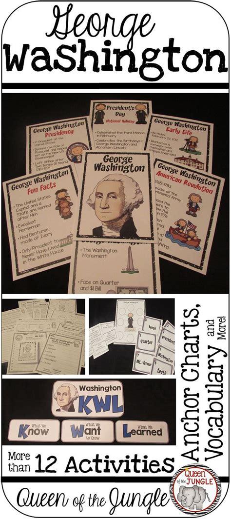 george washington worksheets for 2nd grade worksheet exle