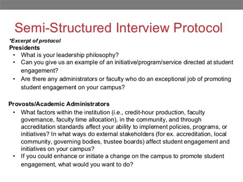 qualitative research interview protocol template gallery