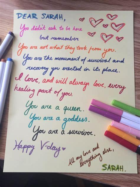 read beautiful love letters sexual assault survivors
