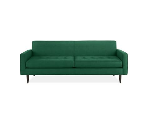 emerald green sofa yes home