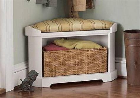 Corner Bench With Storage Corner Storage Bench Unit Cushion Children Benches Units 28 Images Baby Badger Basket