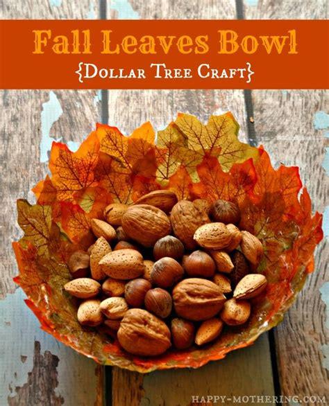 diy dollar tree crafts diy fall leaves bowls dollar tree craft trees leaf bowls and dollar tree