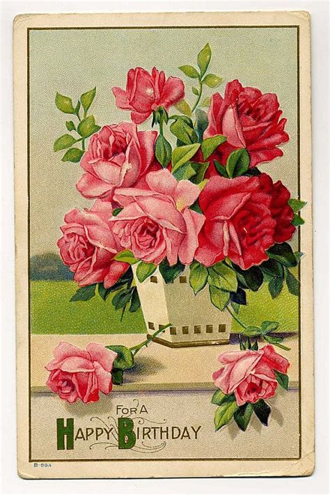free printable victorian birthday cards i love victorian cards this would look amazing cut out