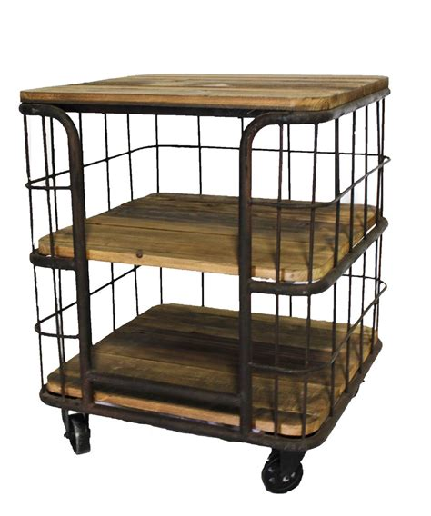 cage end table cage end table
