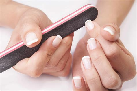 A Nail by Hacks For A Professional Looking Manicure At Home
