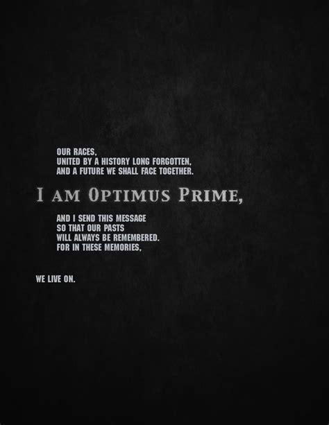 optimus prime quotes optimus prime quotes quotesgram