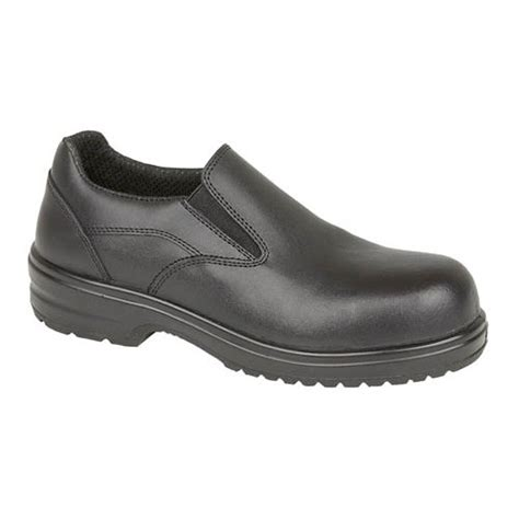 amblers fs94 work shoes slip on with composite toe caps