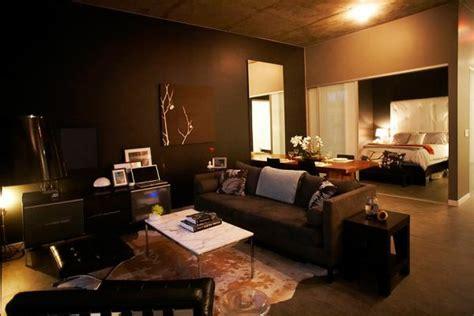 wohnzimmermöbel dunkelbraun dunkle wohnzimmerm 246 bel m 246 belideen