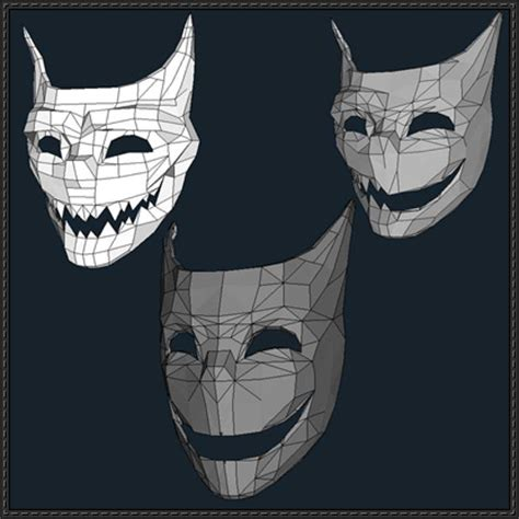 Paper Craft Mask - mask papercrafts free