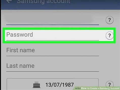 how to create a samsung account 12 steps with pictures