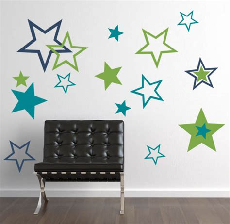 wall stickers stripes big pack wall decal