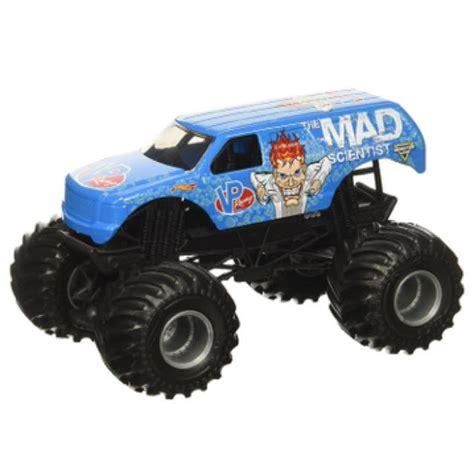 monster jam toy trucks for sale wheels monster jam mad scientist truck toys games