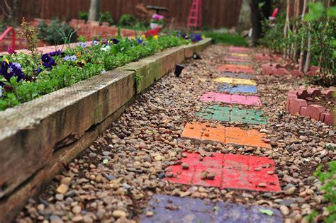 garden stepping stones   easy steps