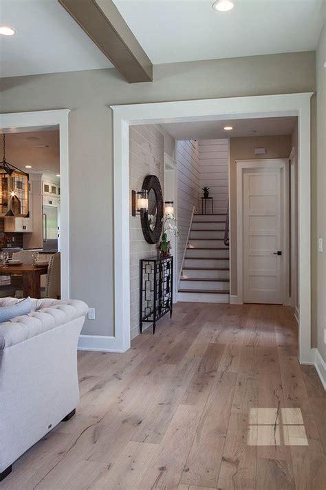sherwin williams accessible beige white oak  hardwood