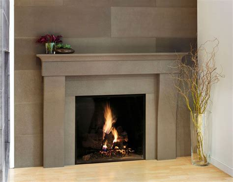 fireplace surrounds modern best 25 contemporary fireplace mantels ideas on