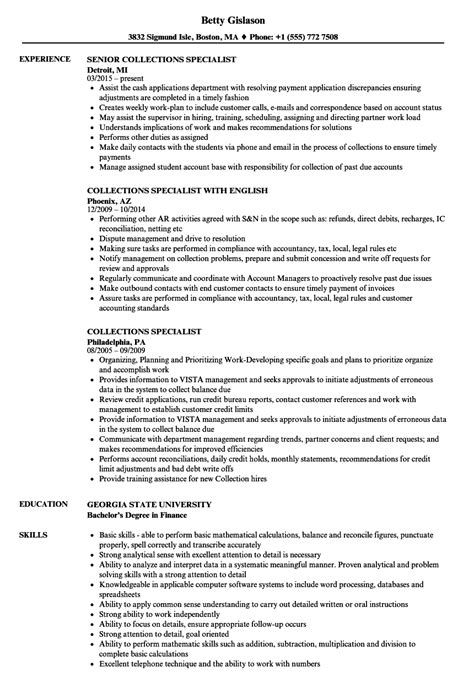 Debt Collection Manager Cover Letter by Debt Collection Manager Cover Letter Pattern Clerk Sle Resume