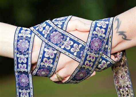 Wedding Ceremony Handfasting by Banquet Halls In Chicago Wedding Receptions Part 3