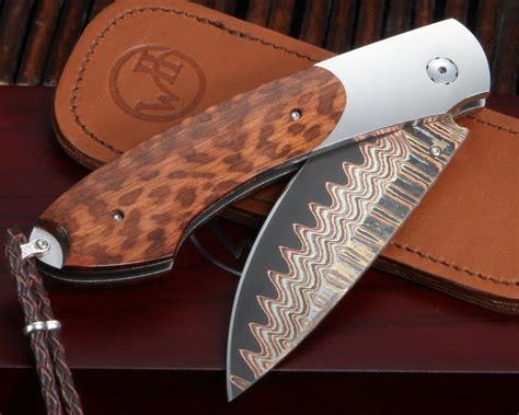 william henry kitchen knives best free home design idea inspiration william henry b12 keelback copper wave damascus folding