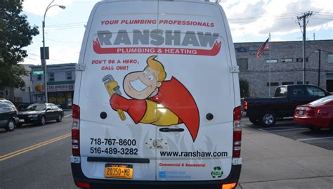 Heating Plumbing Monthly by Truck Of The Month Ranshaw Plumbing Heating Whitestone