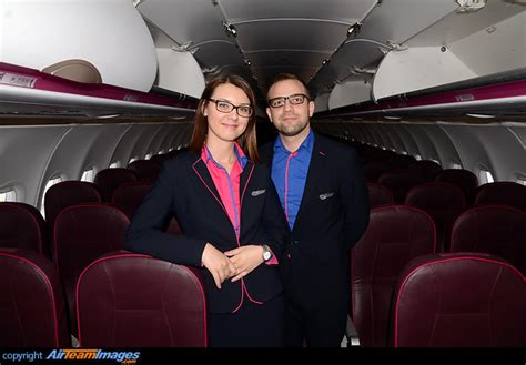 wizz air cabin wizz air cabin crew ha lyt aircraft pictures photos
