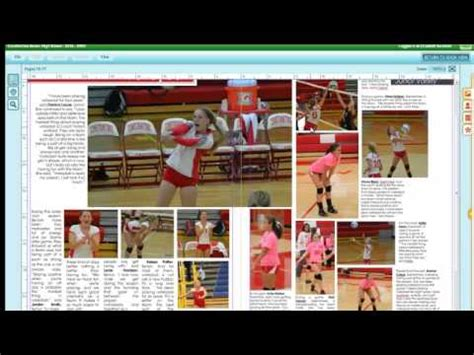yearbook layout rules yearbook design basic rules youtube