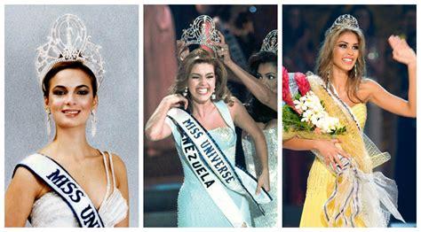imagenes de las miss universo venezolanas miss universo una historia llena de reinas venezolanas