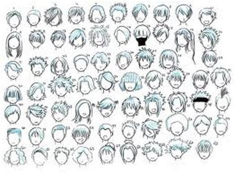 anime hairstyles guide learning how to draw manga have fun drawing manga