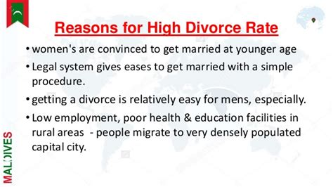 7 Reasons To Get A Divorce by High Divorce Rate In Maldives