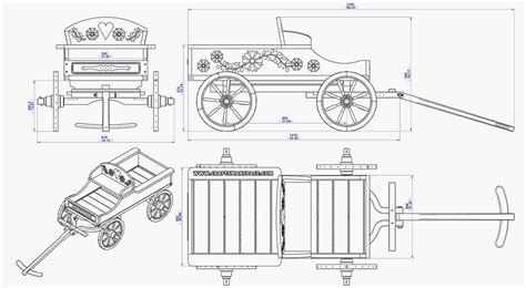 horse wagon plans  wagon