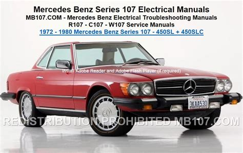 troubleshooting mercedes mercedes 107 electrical troubleshooting manuals