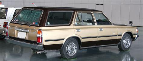 toyota wagon file 6th generation toyota crown wagon rear jpg