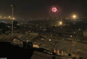 during new year 2015 new year s fireworks include special ww1 poppy